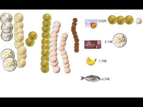 monedas de Euro - YouTube