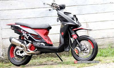 Modifikasi Motor Yamaha X Ride Terbaru Modifikasi Motor Yamaha X
