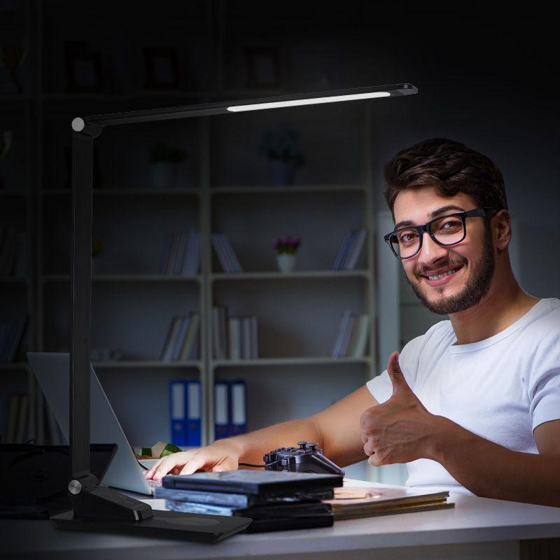 Portable Folding High Brightness Lamp Led Eye Protection Nail Working Table Lamp Led Table Lamp Table Lamp Lamp