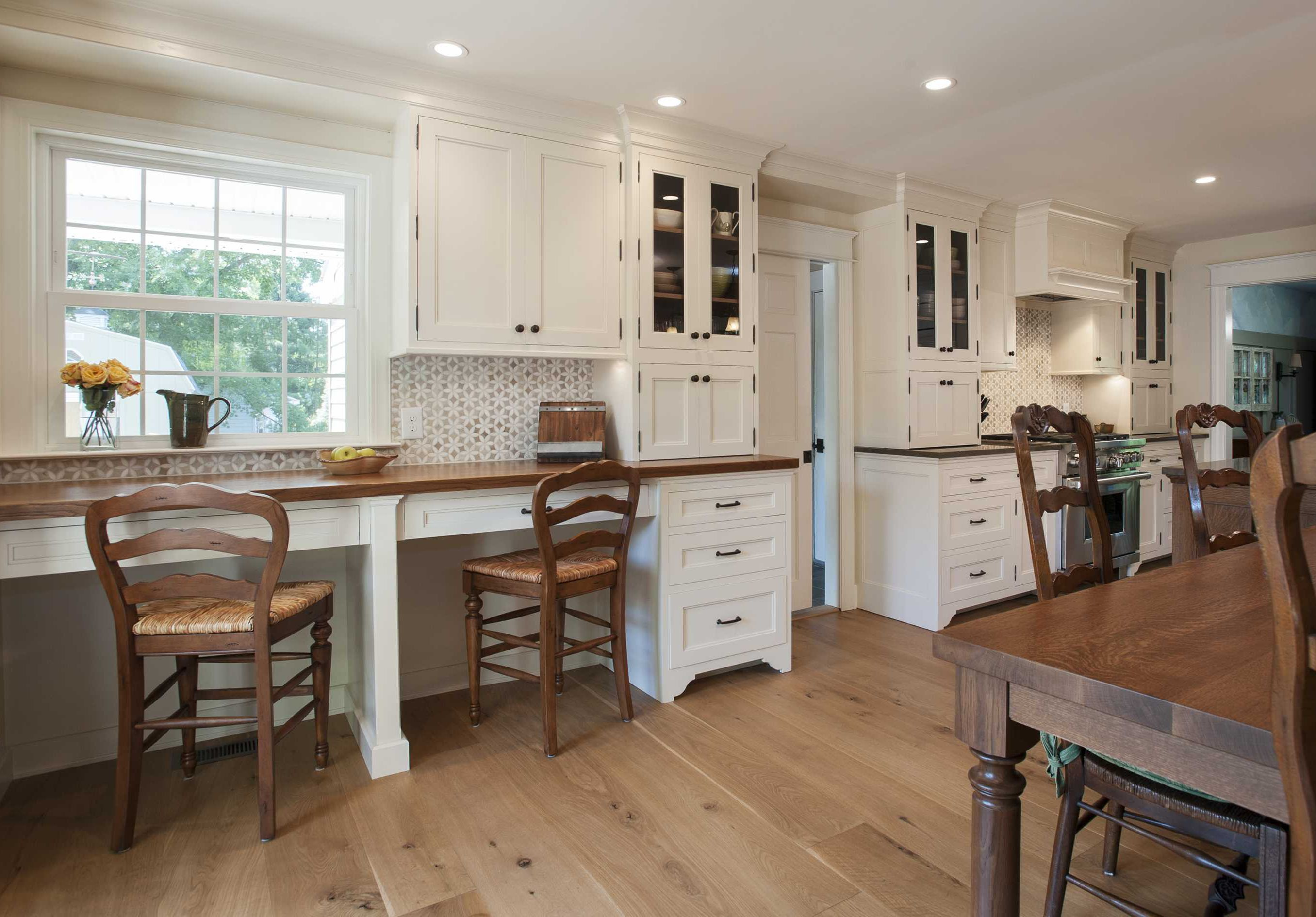 Designed by Main Street Cabinet Co. - Quarter sawn oak and ...