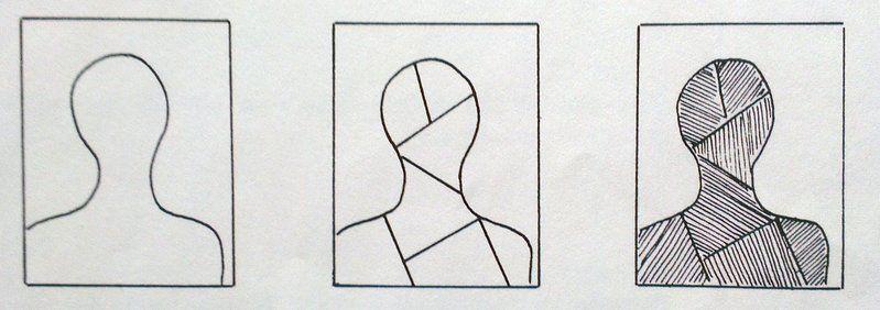 Viiva - Ifen kasvot - tekniikka (taustaa).