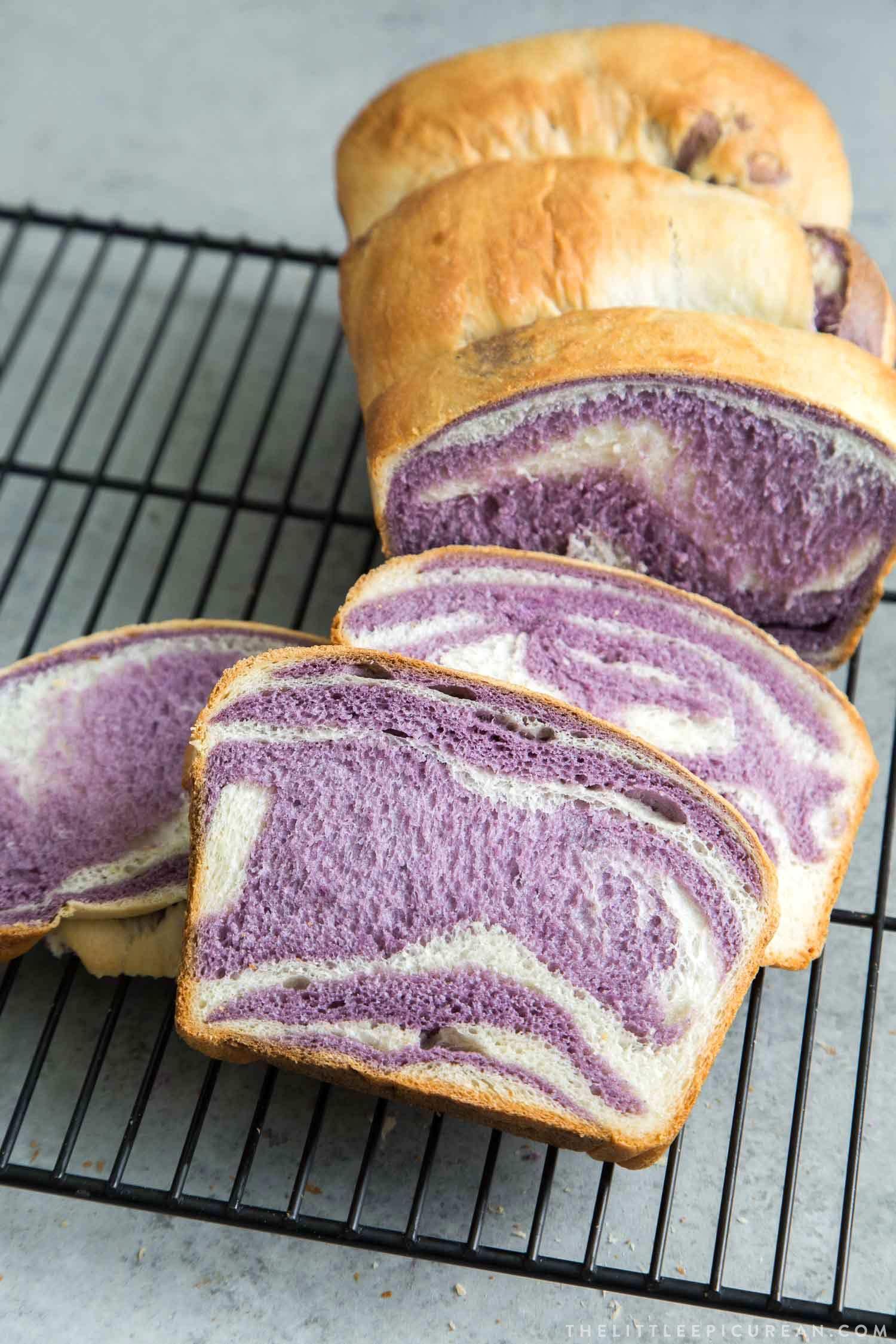 Ube Milk Bread The Little Epicurean Recipe In 2020 Ube Recipes Milk Bread Recipe Food
