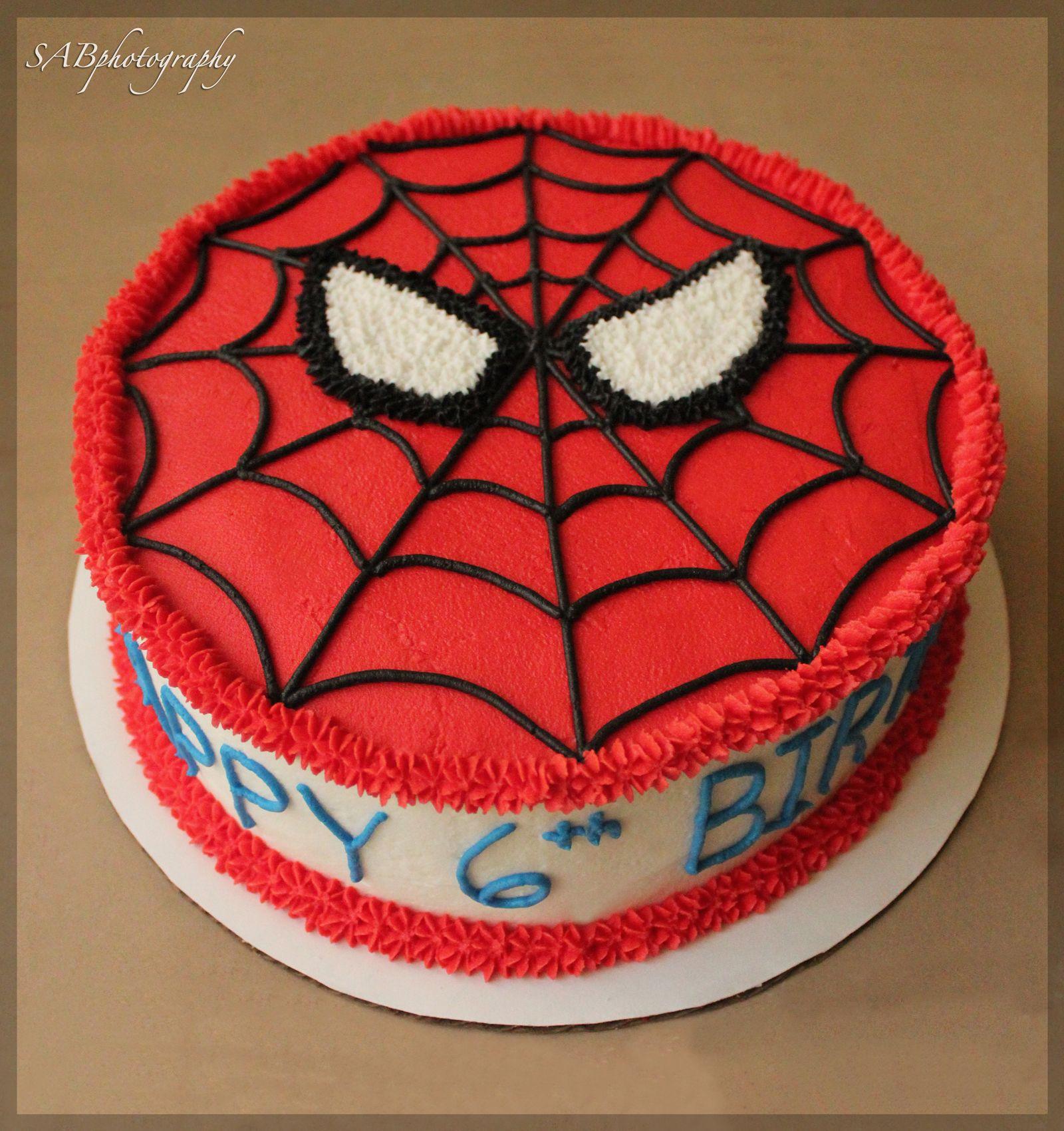 Spiderman Cake Amp Cupcakes
