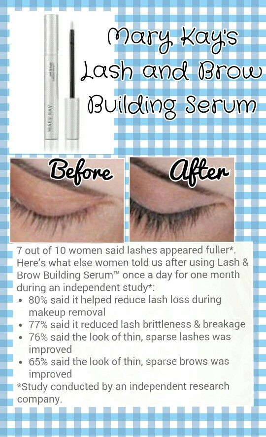 ea594cc00fc Lash and Brow Building Serum :) www.marykay.com/pattywest | Products ...