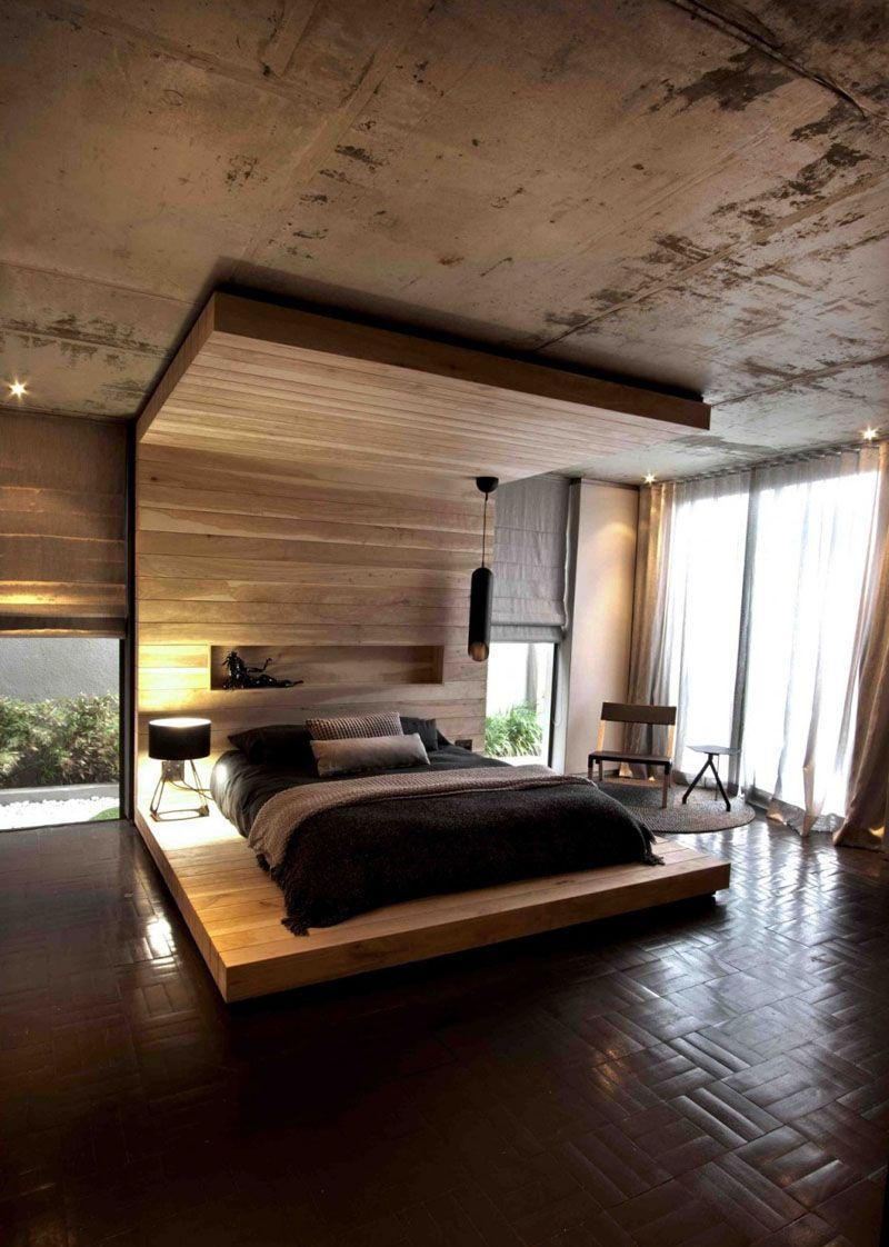 Headboard Design Idea Include A Built In Shelf The Shelf