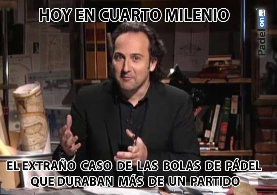 HOY EN CUARTO MILENIO...EL EXTRAÑO CASO DE LAS BOLAS DE PÁDEL QUE ...