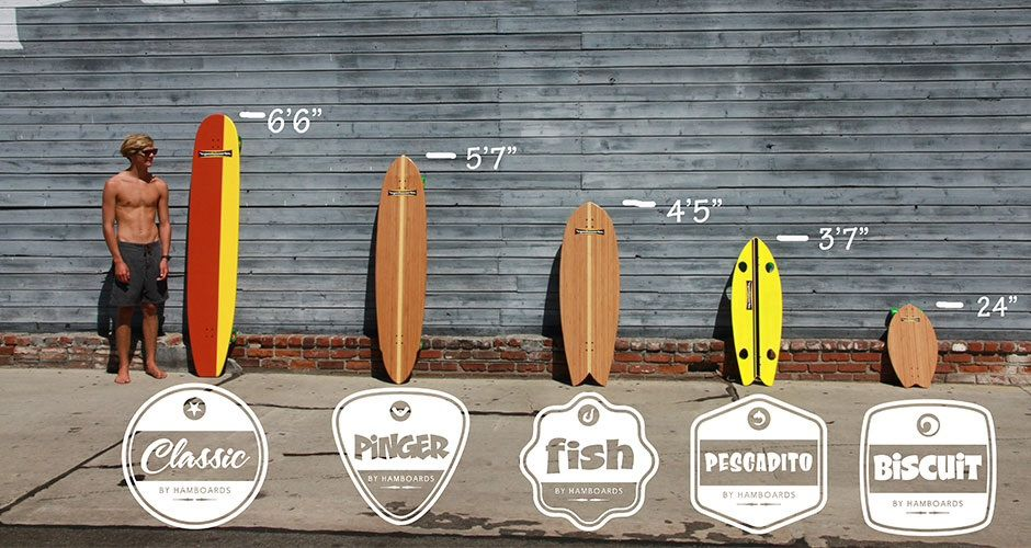 Hamboards Size Chart Inspiration  Interesting Art Longboard