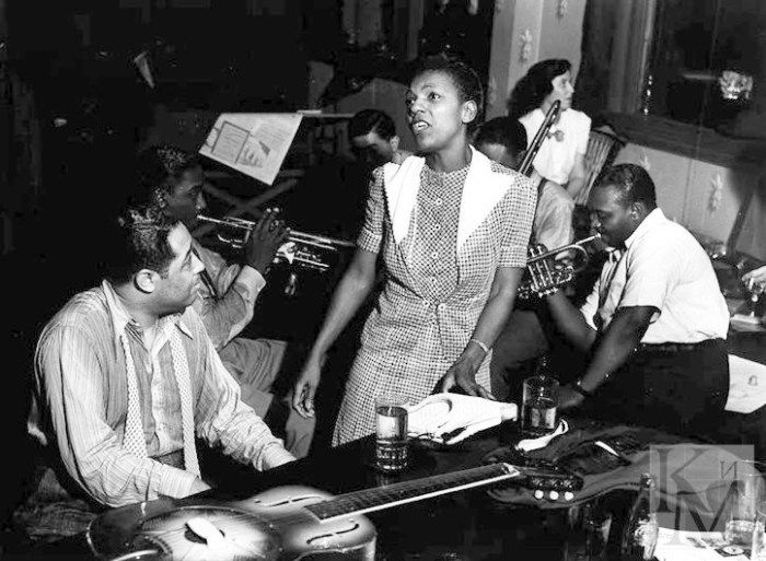 Duke Ellington and Ivie Anderson