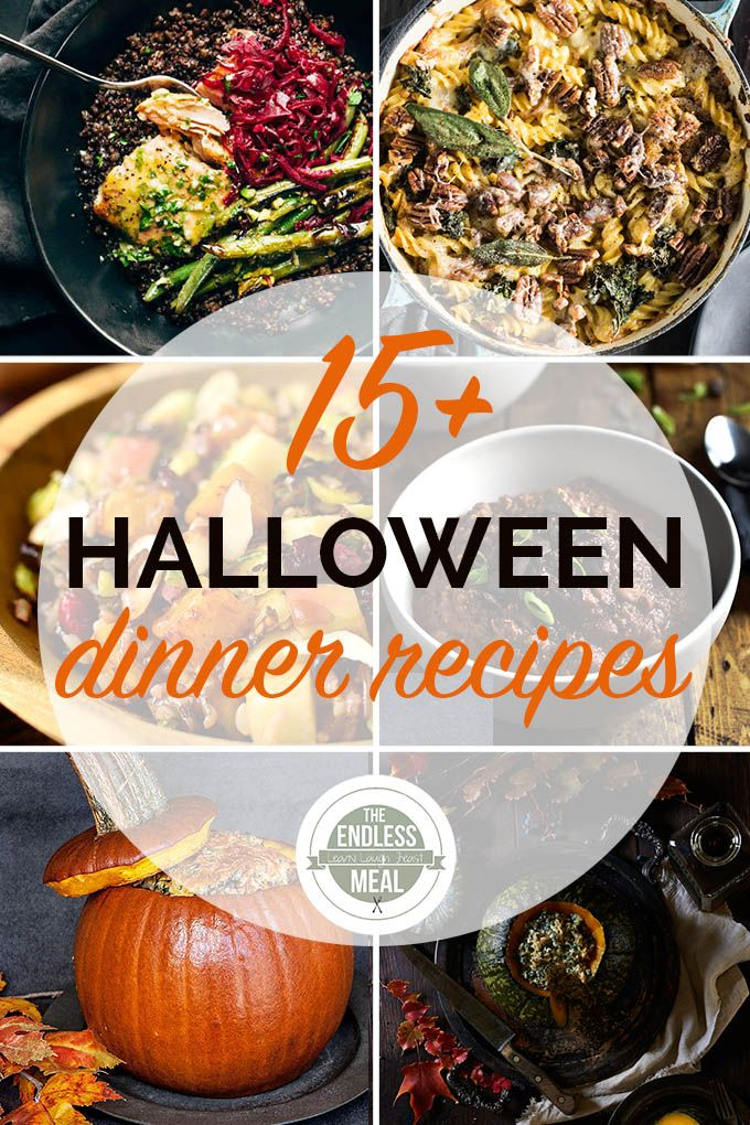 The 15 Best Healthy Halloween Dinners   Halloween dinner ...