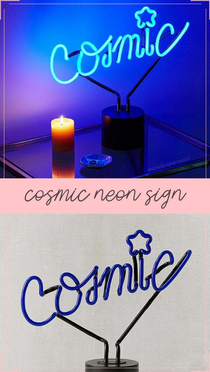 Neon Table Light: Out Of This World Neon Table Lamp That Makes A Fun Accent