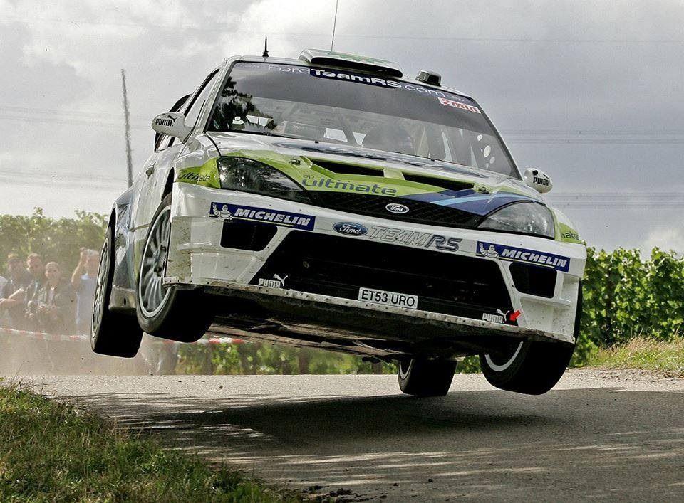 """Ford Focus WRC rally car birdsean """" MSport went nuts"""