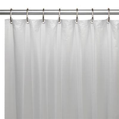 Carnation Home Fashions Usc 10 10 Gauge Vinyl Shower Curtain Liner