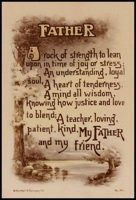 Father's Day Quotes And Poems | ... fathers day Poem Happy Fathers ...