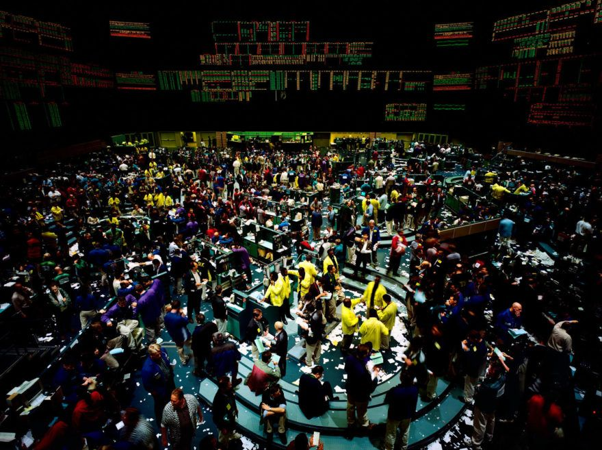 Andreas Gursky New York Mercantile Exchange 1999 Andreas Gursky Stock Exchange Photo