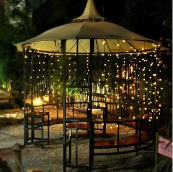 Guirnaldas de luces de exterior amazon jard n for Luces exterior jardin