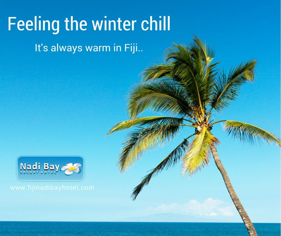 Time to take that winter escape!