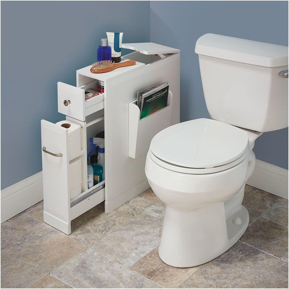 The Tight Space Bathroom Organizer Hammacher Schlemmer From Bathroom Organizer