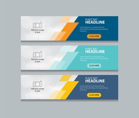 website banner design templates