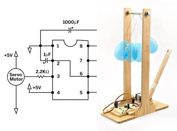 555 Timer Weekend Projects | Electronics projects