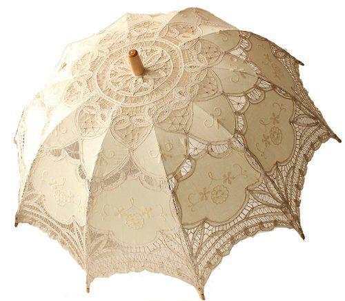 Image result for pictures of battenburg lace parasols