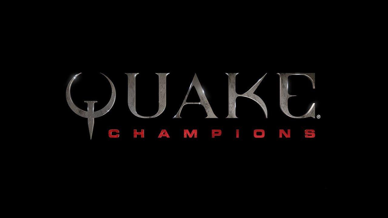 Quake Champions E3 2016 Reveal Trailer Champion New Champion Champion Logo