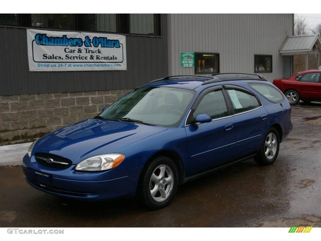 2003 patriot blue metallic ford taurus