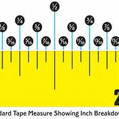 easy read tape measure diagram a organized home life pinterest rh pinterest com Tape-Measure End Clip Tape-Measure End Clip