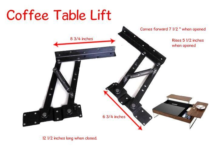 Lift Up Top Coffee Table Mechanism Diy Hardware Fitting Furniture