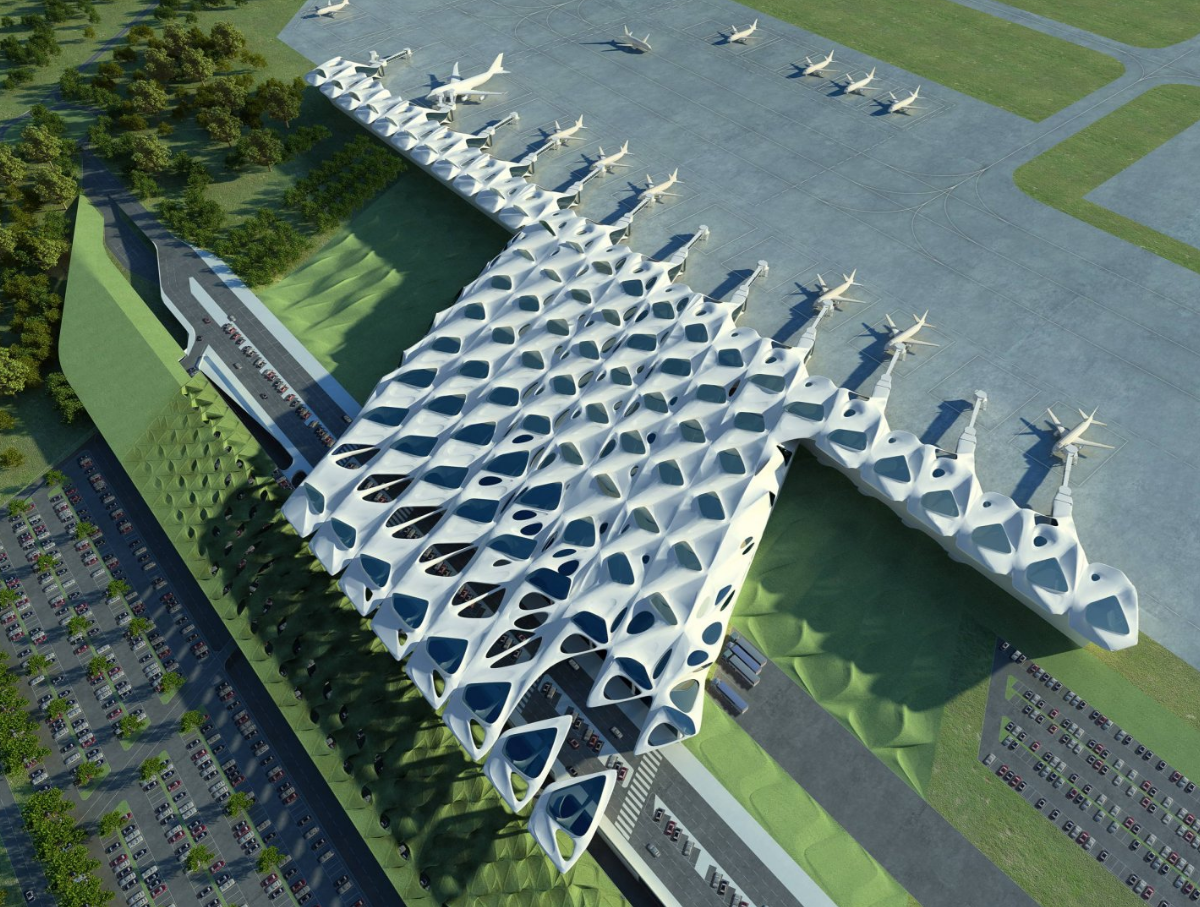 New Passenger Terminal For Zagreb Airport Zaha Hadid Architects Zaha Hadid Architects Zaha Hadid Zaha