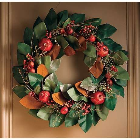 magnolia leaves in floral arrangements - Google Search | wreaths ...