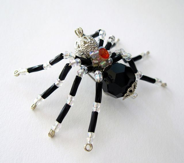 Spider Brooch handmade jewelry | Flickr - Photo Sharing!