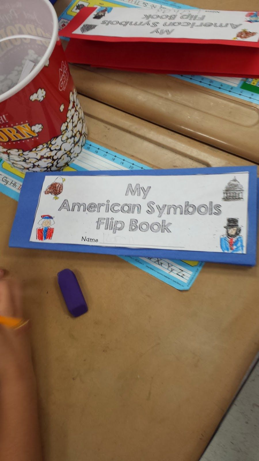Flying Into First Grade I Love The Us American Symbols