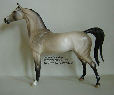 MODEL HORSE Peter Stone FC Arabian Pale Buckskin Dappling Open Mouth Arab
