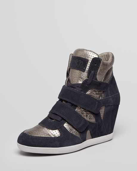 ASH High Top Wedge Sneakers Bea - Lyst <3333