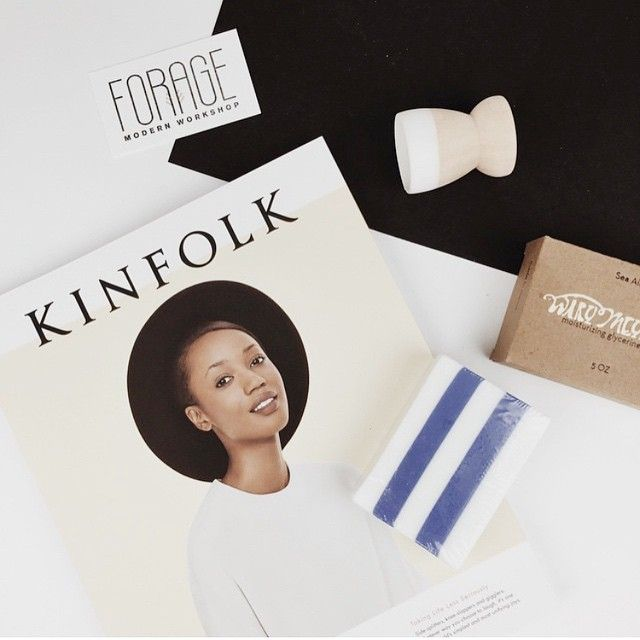 Kinfolk Issue 16 and Wary Meyers Sea Air Soap