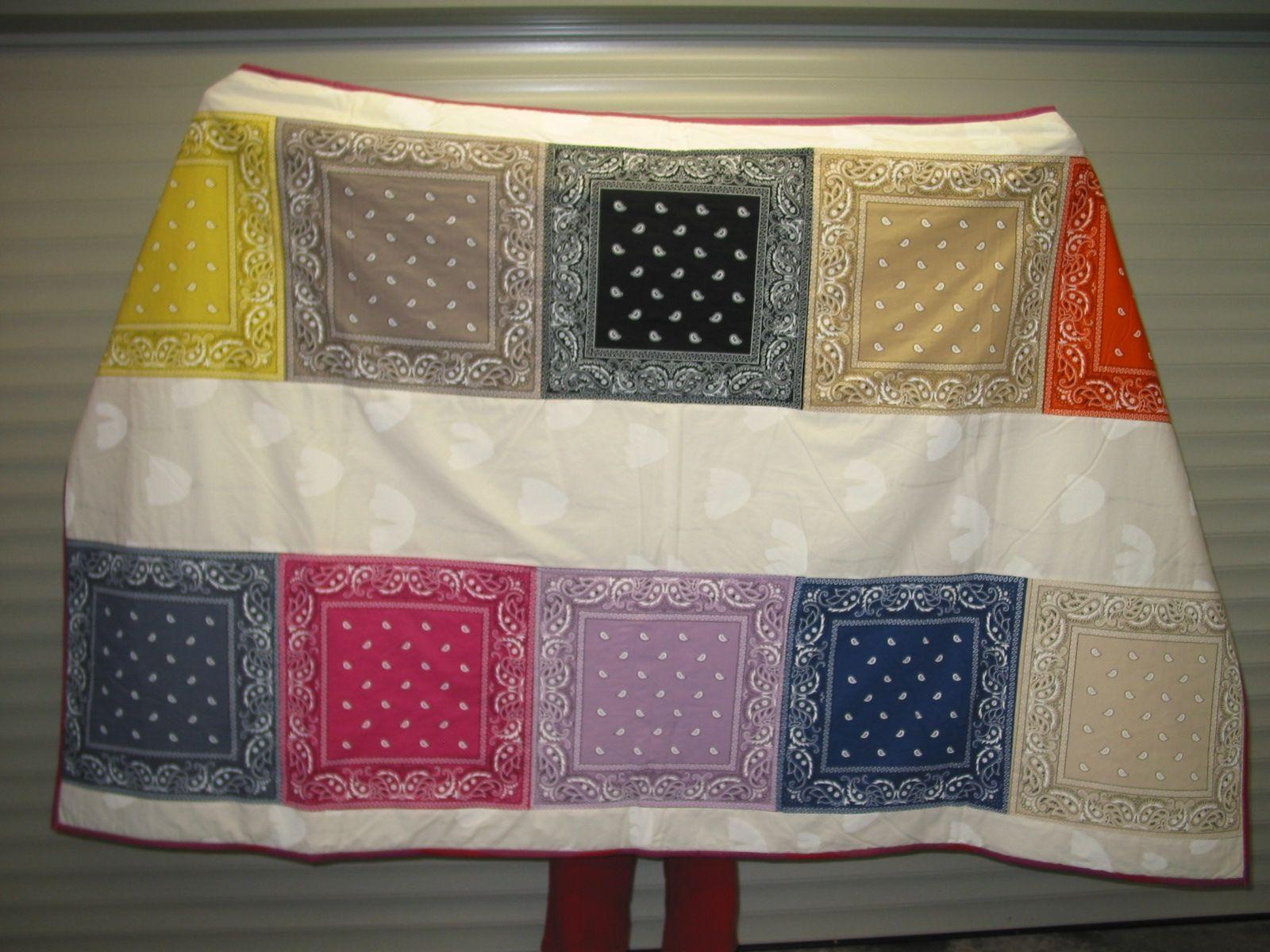 Zakdoeken quilt