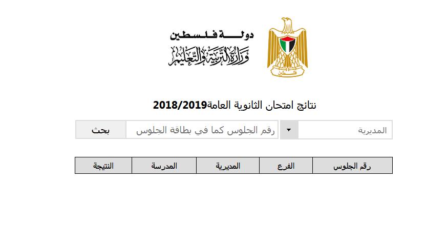 Now الإستعلام عن نتيجة توجيهي 2019 فلسطين برقم الجلوس من خلال موقع نتائج الثانوية العامة ٢٠١٩ انجاز Lettering Symbols