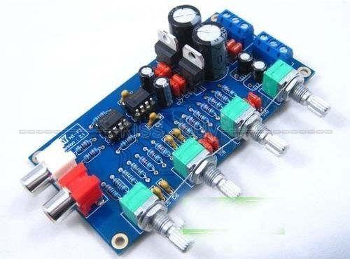 NE5532 Preamp Volume Control Board 10 Times Pre-amp A51 Treble