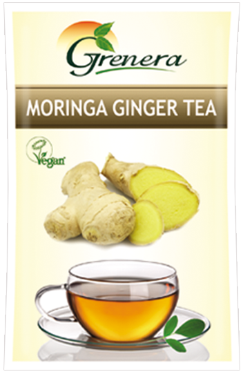 Moringa ginger infusion is purely a natural infusion with innumerable health benefits and soothing refreshment effect. Ginger infusion is a spicy conventional beverage that is consumed and enjoyed daily throughout Asia and also popular across the world.  Moringa Ginger tea is our classic product. The ginger pieces are specially sourced from the Malabar regions and they add a very special taste to the infusion.