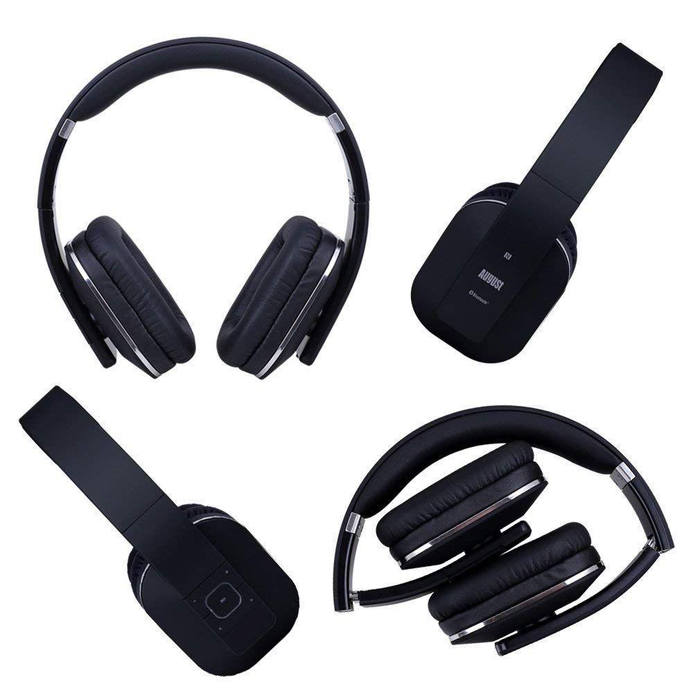 Https Www Amazon Com August Bluetooth Headphones Multipoint Microphone Dp B00f54y6gu Wireless Headphones Headphones Bluetooth Headphones