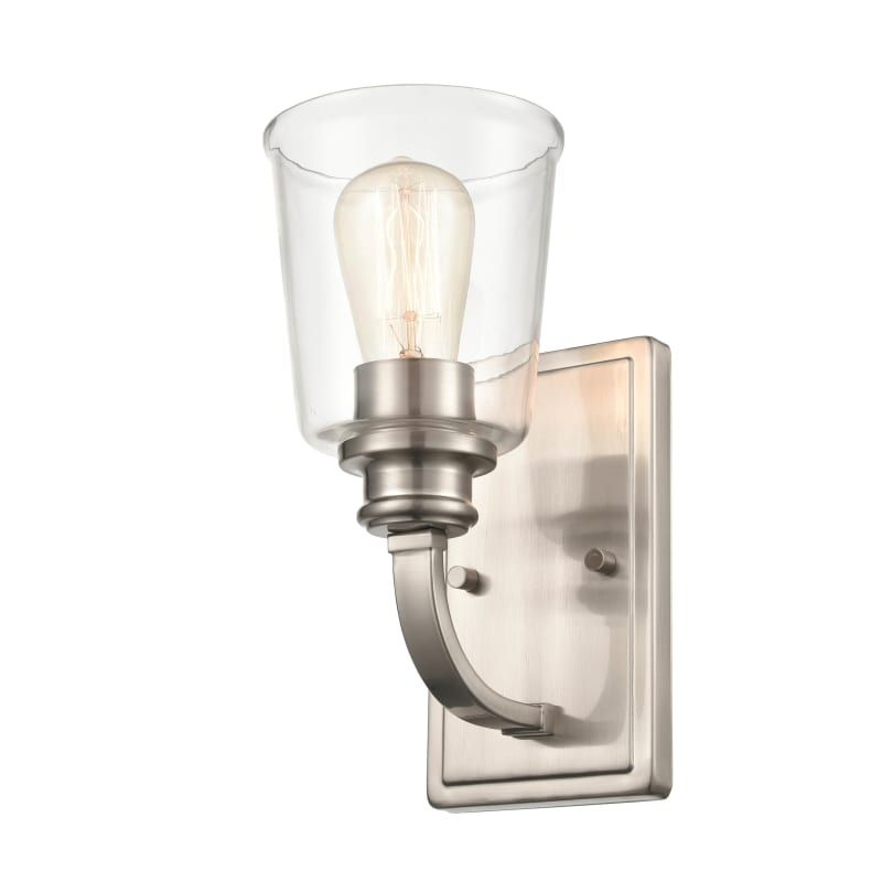 "Photo of Millennium Lighting 3601 11 ""Tall Bathroom Lamp Brushed Nickel Indoor Lighting Bathroom Lights Bathroom Light"