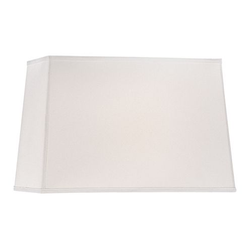"""Another popular shade is our sleek and modern white linen rectangle shade. As one customer put it,  """"I have been searching for months for a large contemporary shade and they arrived today and are perfect. Clean and simple lines, a true white and not one of those """"sort of"""" whites, and pleasing to the eye dimensions. I am so pleased."""""""