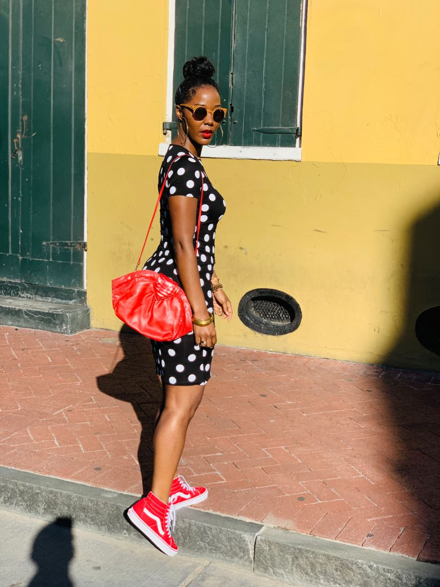 This Is How My Freedom Looks Style Energy Dress With Sneakers Black Girl Fashion Fashion [ 1200 x 900 Pixel ]