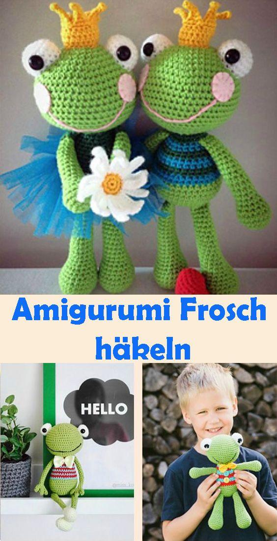Photo of Amigurumi Frosch häkeln – einfache DIY Anleitung