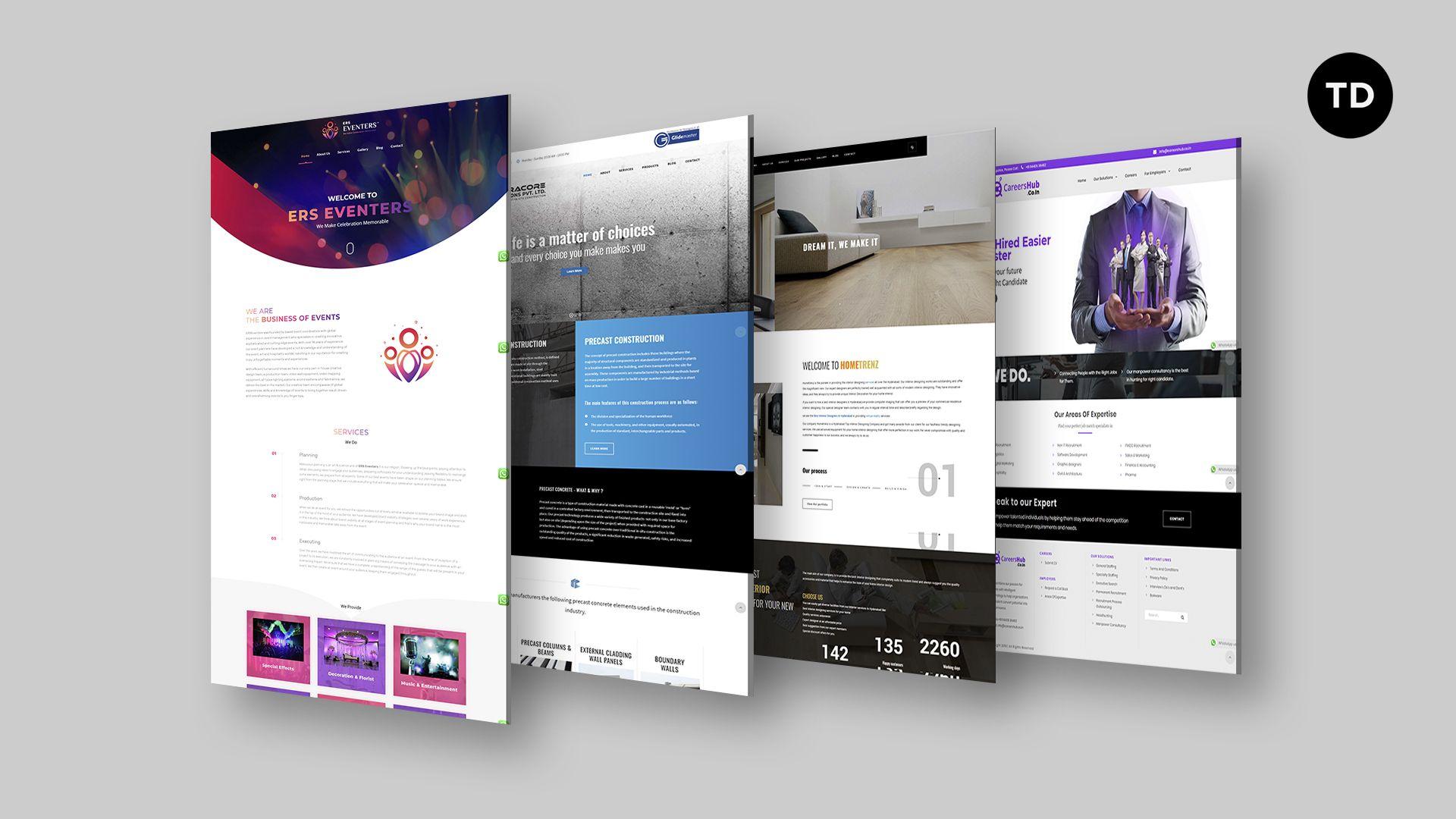 Top 10 Web Designing Companies In Hyderabad In 2020 Web Design Company Professional Web Design Web Design