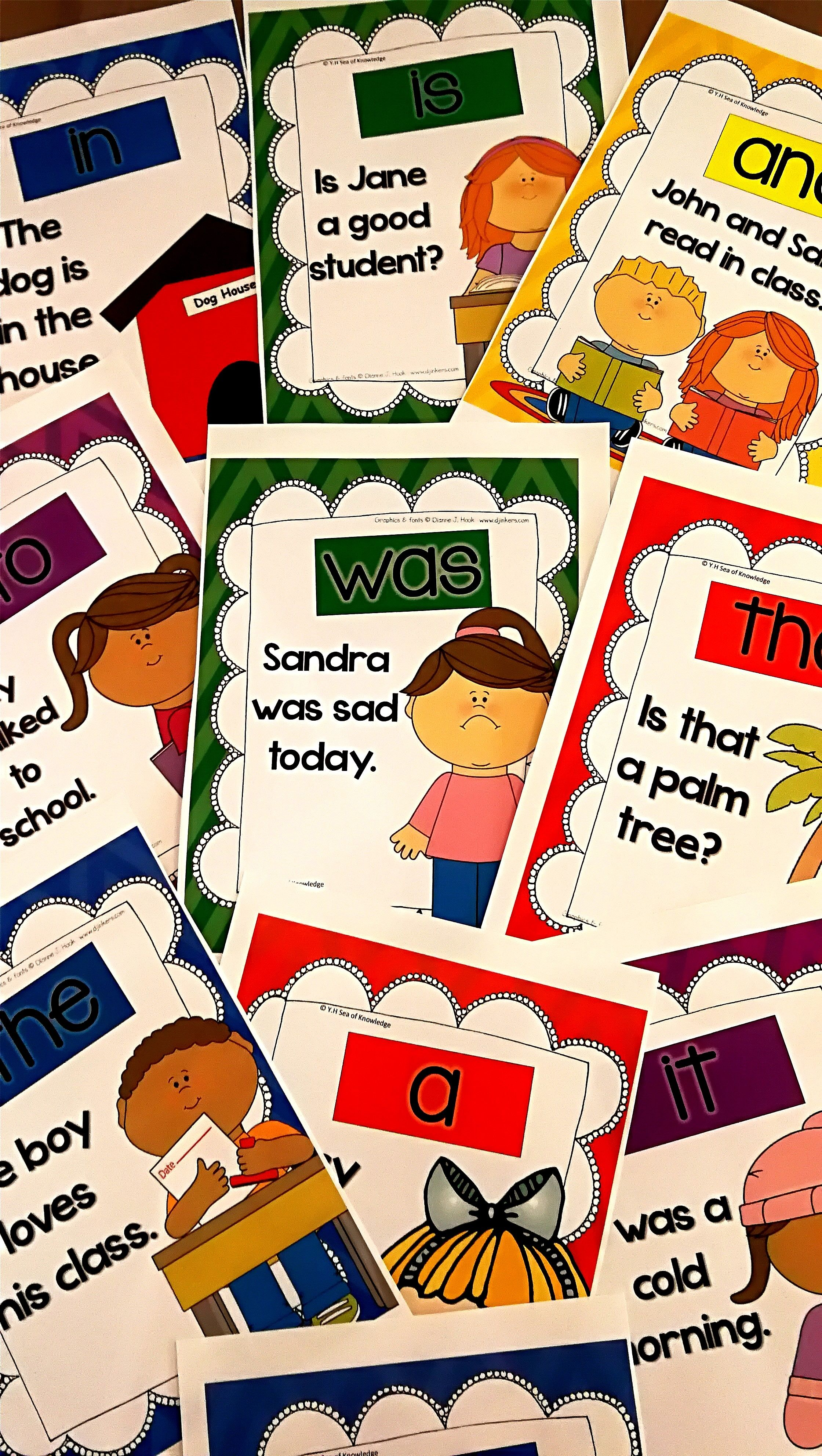 Sight Word Sentence Posters Frys First 300 Bundle Pinterest