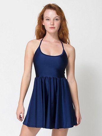 American Apparel - Nylon Tricot Figure Skater Dress  14d5172bd