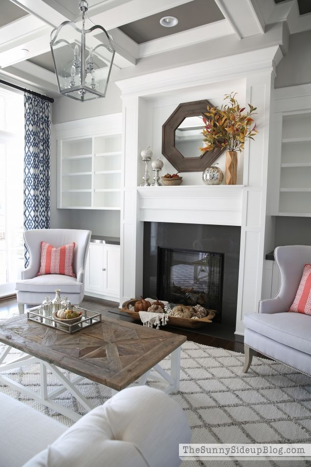 Fall And Chairs In The Formal Living Room Favorite