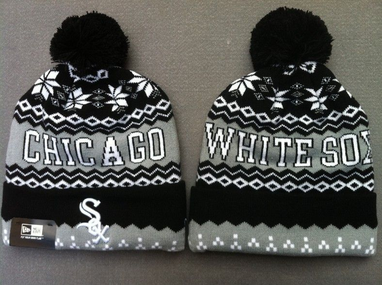 abc183cce0a MLB Knit Caps Chicago White Sox Beanies Hats 0349734! Only  7.90USD ...