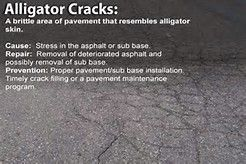 Did You Know Fatigue Cracks Are Commonly Called Alligator Cracks Because They Resemble The Lines On Alligator Skin T Asphalt Repair Pavement Alligator Skin